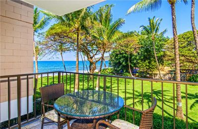 Photo for KR208- Park and Ocean View Condo in Beach Front Resort; Miles of Quiet White Sandy Beach -