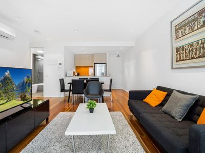Photo for Stylish Apartment With Large Balcony and Parking