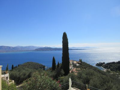 Photo for Corfu Villa - Panoramic Sea Views  20% Discount on all may, june, july dates.