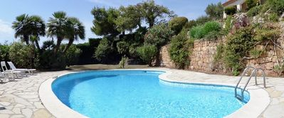 Photo for Villa Antibes, private pool, beautiful sea view