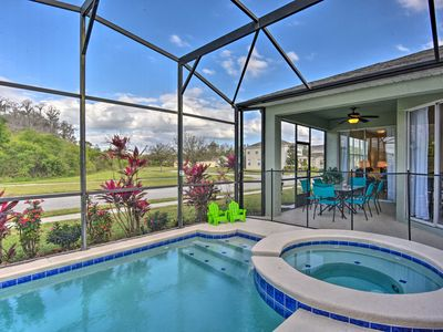 Photo for NEW! Kissimmee Resort Home w/Lanai, Pool & Hot Tub