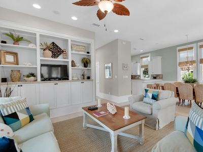 Photo for Exquisite home at Destin Pointe! Free beach service! Short stroll to beach!