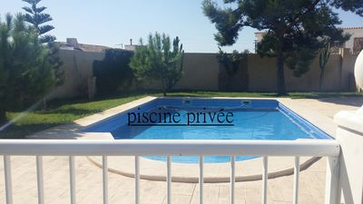 Photo for Villa with private pool 10 km from the beach
