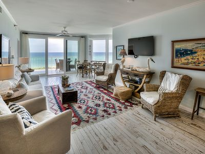 Photo for Tranquillity #240, 30A Cottages, Wonderful Condo, Gulf Front, 4 Bikes, Call Now!!