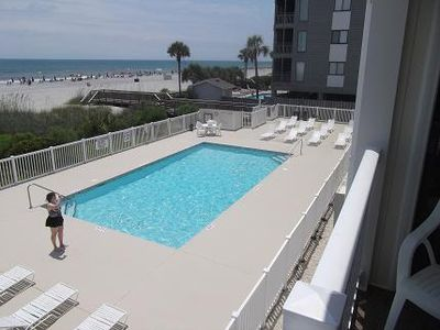 Photo for Cozy&Convenient steps away from the ocean APATB  #B114, Myrtle Beach