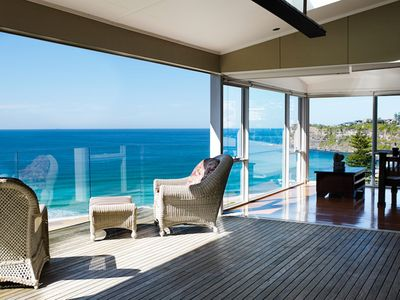 Photo for Beached On Bungan Ocean Front Stylish Holiday Home Bungan Near Newport