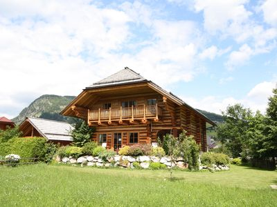Photo for Unique log cottage with in-house wellness, centrally located in Lungau valley.