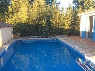 Photo for Beautiful Rural Villa in private garden with Heated Outdoor Pool