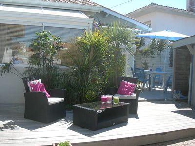 Photo for House in Arcachon close to the beach, tastefully decorated, garden