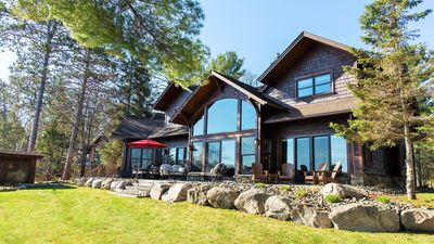Luxury Getaway On Cross Lake. 152 Ft Lakeshore w/ Dock & Fire Pit. Close To Town