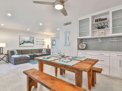Photo for Fresh & Bright Remodel! Cool off in the huge pool! 1 Block from shopping & dining at El Paseo!