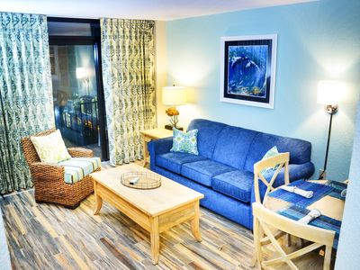 Photo for Belilmare Coral Escape Oceanfront 413 at Beach Cove Resort 1br/1ba