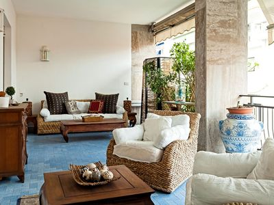 Photo for Casa Azul in Sorrento center, with 2 bedrooms, it can accommodate up to 4 guests