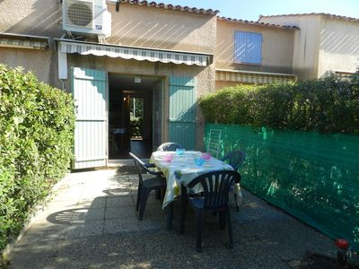 Photo for MAZET 4 PEOPLE. AIR CONDITIONED. LARGE TERRACE. SWIMMING POOL