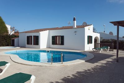 Villa nr.4.  The pool is shared with Villa nr.3 if occuped.