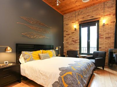 Photo for Modern, contemporary suite in the heart of downtown with private parking