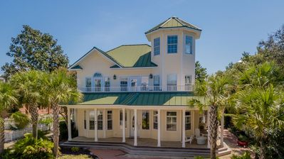Photo for Paradise 30A ~ Key Lime Pie - Inlet Beach, Private heatable pool, pet-friendly