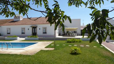 Photo for Between Lisbon and Évora, a quiet house, always cool in the hot Alentejo summer.