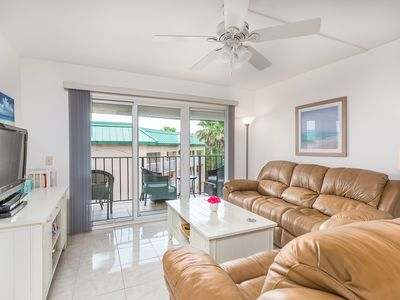 Photo for OCEANFRONT CONDO! FOOTSTEPS TO THE BEACH!