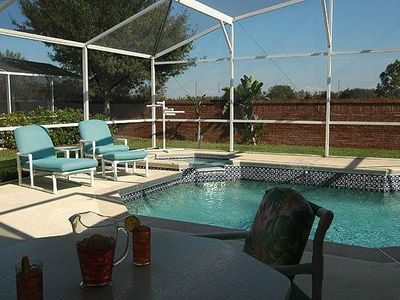 Photo for The Sleeping Beauty: 3BR House, Pool, Spa, 3 miles to Disney!