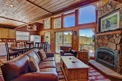 Summit View Chalet - a SkyRun Breckenridge Property - Open floor plan layout conducive for socializing with loved ones