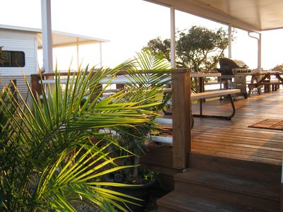 Photo for Kickback & Relax on Deck Overlooking the Bay & Just a Short Walk to the Ocean