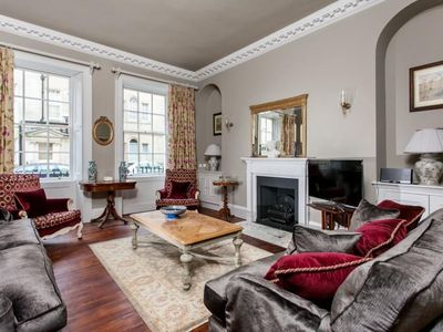 Photo for Sumptuous and dramatic garden property for 6 in the centre of historic Bath