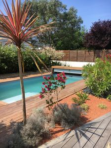Photo for QUIBERON Comfortable villa with heated pool, summer 2018!