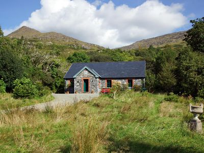 Photo for Detached stone faced cottage beside a stream and waterfalls on the slopes of the Caha Mountain…