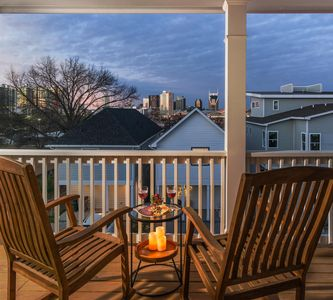 Photo for Skyline Views from The Gulch in Nashville: 3 BR, 2.5 BA House, Sleeps 8
