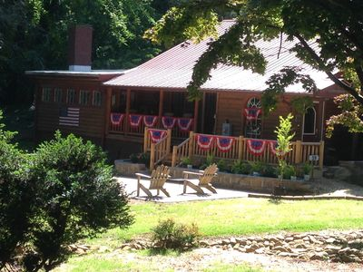 Photo for Deerfield Cabin  Location, Location, Location! Best in Downtown Helen!