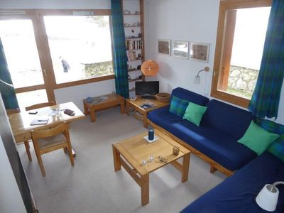 Photo for Surface area : about 38 m². Orientation : South-East. View mountain. Living room with 2 sofa-beds