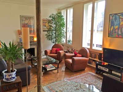 Photo for New - Center of Paris (Le Marais) - Large one bedroom 60 sqm with elevator