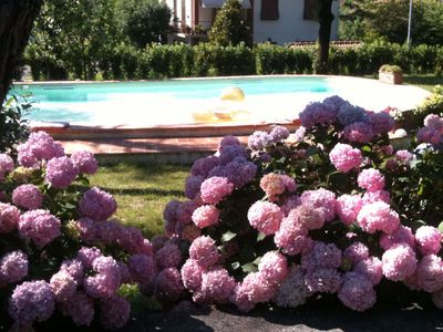Photo for Tuscany - Arezzo elegant villa with pool and private park