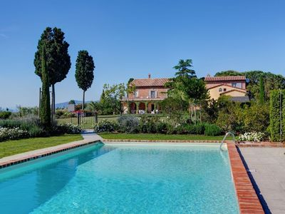 Photo for Villa in Cortona with Internet, Pool, Parking, Terrace (711865)