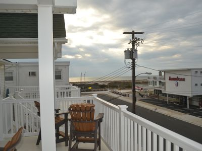Photo for Beach Block Ocean View Sealaxation in North Wildwood