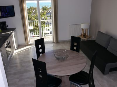 Photo for New apartment in residence overlooking the sea