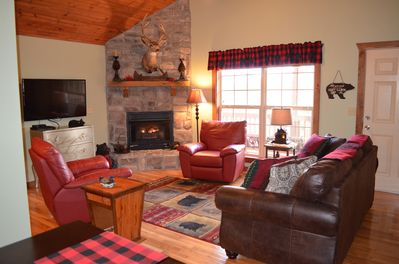 Lodge living room