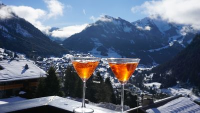 Never too early for aperol on the terrace!