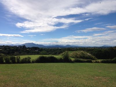 Photo for Exceptional view of the golf course and the mountains