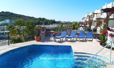 Photo for 2 bedroom Villa, sleeps 7 with Pool, Air Con and Walk to Beach & Shops