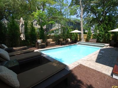 Photo for Heated POOL-ONE BLOCK TO Beach Luxury Home