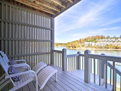 Photo for NEW! Waterfront Condo on Norris Lake w/Boat Slip!
