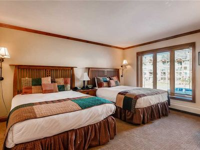 Photo for Lionshead Village room with ski-in/ski-out access and shared hot tubs/pool