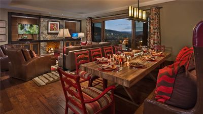 """Photo for One Steamboat Place : """"Wolf Mountain"""" #511 - 4BR Ultra Luxury Condo"""