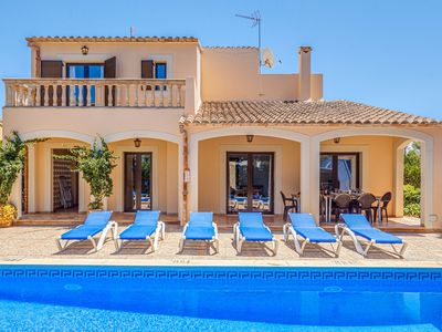 Photo for Villa Karen in Sa Rapita with WIFI Pool and close to the beach