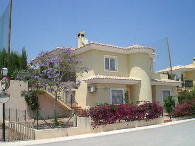 Photo for JACARANDA VILLA WITH PRIVATE POOL FOR RENT IN THE COSTA BLANCA GOLF BONALBA