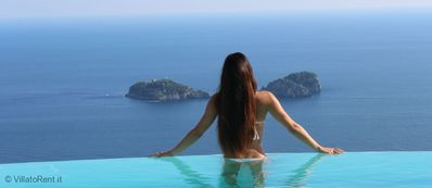Photo for ASTONISHING VILLA AMAZING VIEW ON AMALFI COAST and LI GALLI ISLES