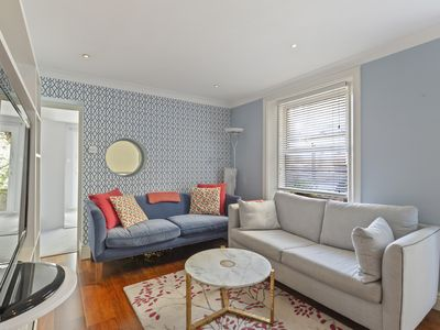 Photo for Bright 2 Bed Apartment with Terrace near Notting Hill