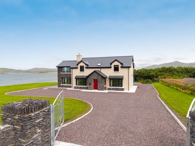 Photo for Luxury new build home right by the sea on Valentia Island. Sleeps 9